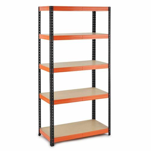 Multipurpose Commercial Shelving - Up to 250Kg UDL Per Shelf - H1800 x W900 x D400 mm