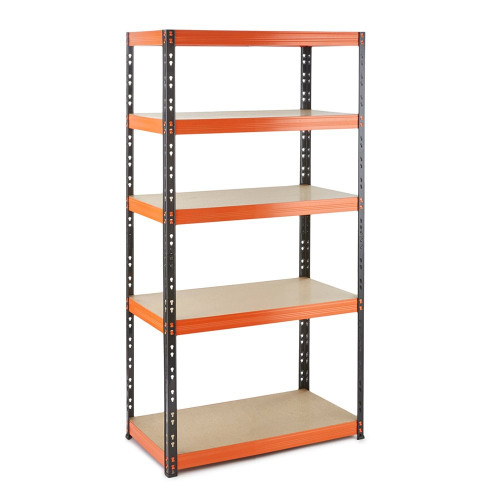 Multipurpose Commercial Shelving - Up to 320Kg UDL Per Shelf - H1800 x W900 x D400 mm