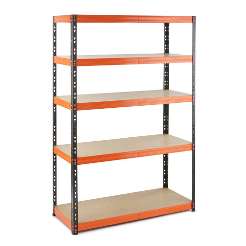 Multipurpose Commercial Shelving - Up to 350Kg UDL Per Shelf - H1800 x W1200 x D400 mm