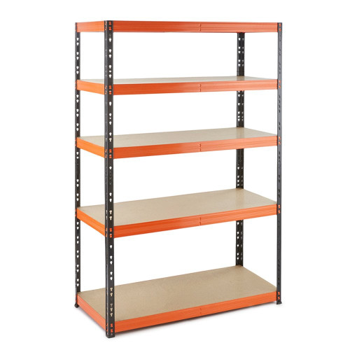 Multipurpose Commercial Shelving - Up to 350Kg UDL Per Shelf - H1800 x W1200 x D500 mm