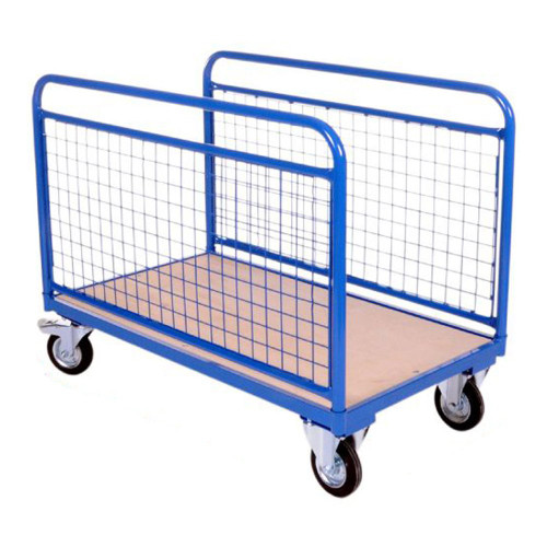 Blue Heavy Duty Double-Mesh Sided Truck - Up To 500Kg UDL