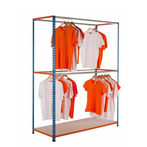 Stockroom Garment Racking Units - Up To 160kg UDL/Tier