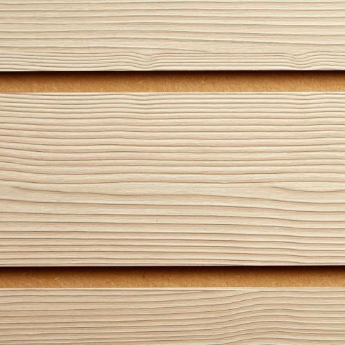 Pino Cream Slatwall Panel - 100mm Centres - 18mm MDF