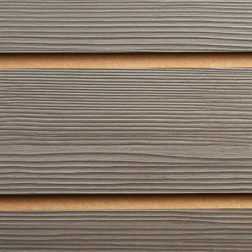 Pino Grey Slatwall Panel - 100mm Centres - 18mm MDF