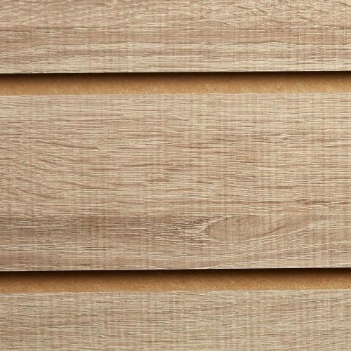 Rustic Oak Slatwall Panel - 100mm Centres - 18mm MDF