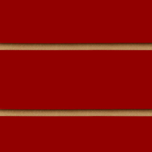 Red Slatwall Panel - 100mm Centres - 18mm MDF
