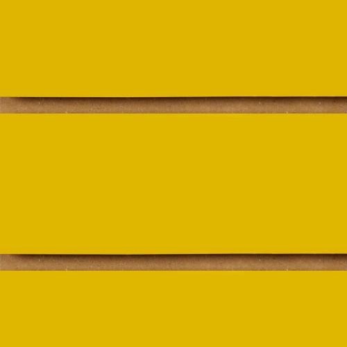 Yellow Slatwall Panel - 100mm Centres - 18mm MDF