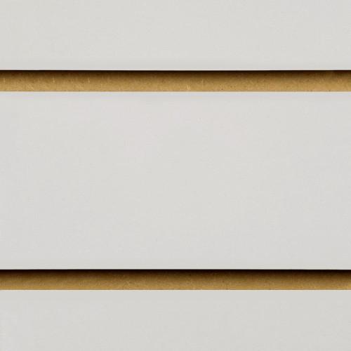 Grey  Slatwall Panel - 100mm Centres - 18mm MDF
