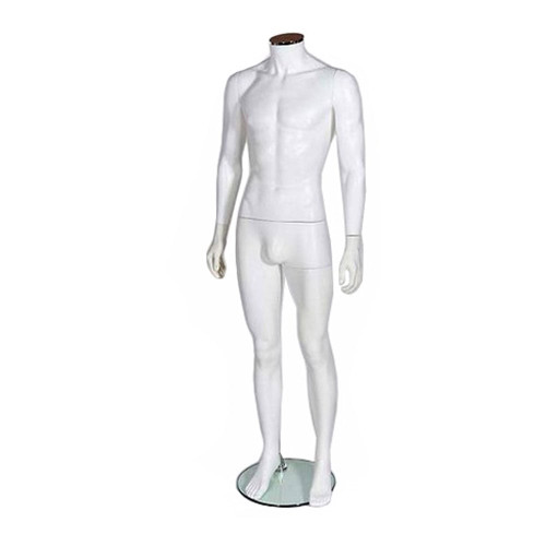 Zest Mannequin 03 - Male - Matt White