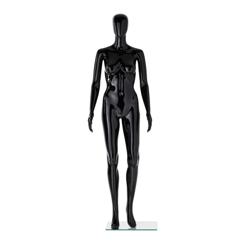 Vibe Mannequin 04 - Female - Gloss Black