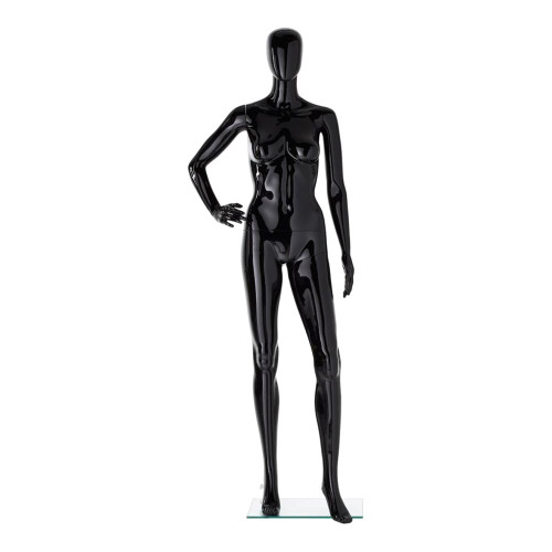Vibe Mannequin 06 - Female - Gloss Black