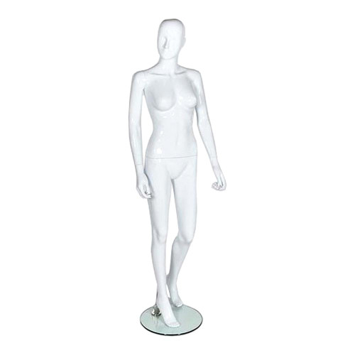 Spirit Mannequin 02 - Female - Gloss White
