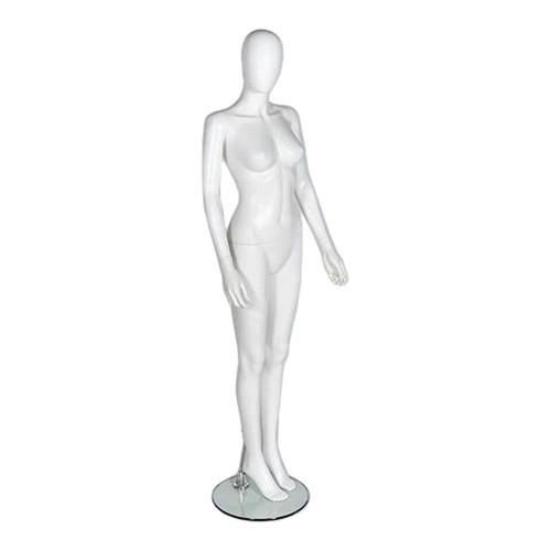 Spring Mannequin 01 - Female - Matt White