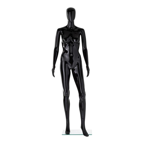Vibe Mannequin 02 - Female - Gloss Black