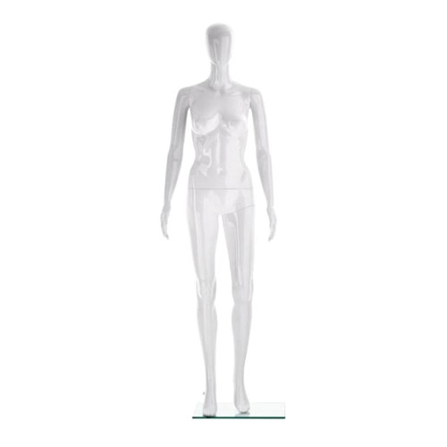 Vibe Mannequin 03 - Female - Gloss White