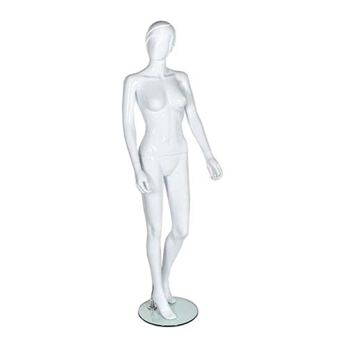 Vita Mannequin 01 - Female - Gloss White