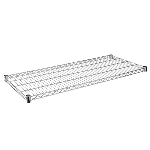 Heavy Duty Wire Shelf for Chrome Wire Shelving - 600mm Depth Shelves