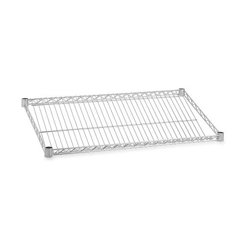 Slanted Wire Shelf for Chrome Wire Shelving - 450mm Depth Shelves