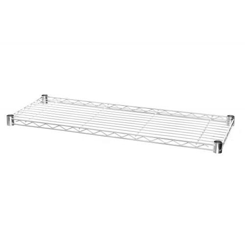 Medium Duty Wire Shelf for Chrome Wire Shelving - 350mm Depth Shelves