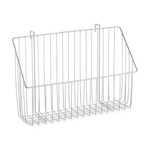 Hanging Wire Basket for Chrome Wire Shelving - H150 x W475 x D150mm