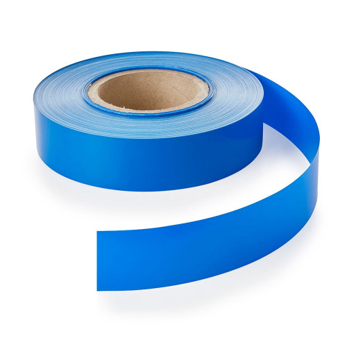 Blue Backing Strip for Retail Shelving Shelf-Edge/EPOS Strips