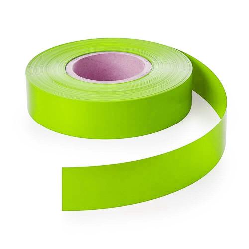Green Backing Strip for Retail Shelving Shelf-Edge/EPOS Strips