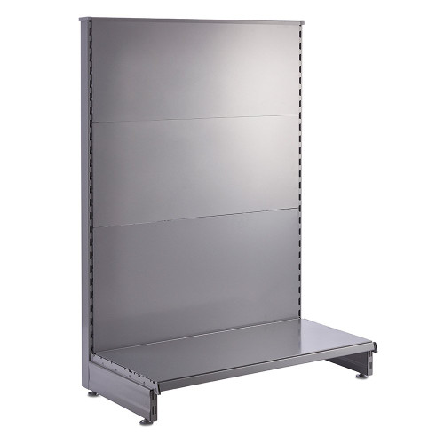 Silver End Bay for Retail Shelving Gondola Bays
