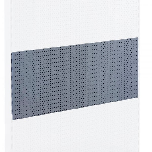 Silver Perforated Back Panel for Retail Shelving Units - H400mm