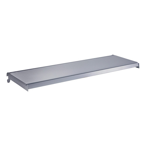 Silver Shelf And Brackets for Retail Shelving Units - W1250mm