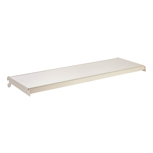 Jura White Shelf And Brackets for Retail Shelving Units - W1250mm