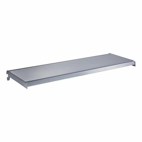 Silver Shelf And Brackets for Retail Shelving Units - W1000mm
