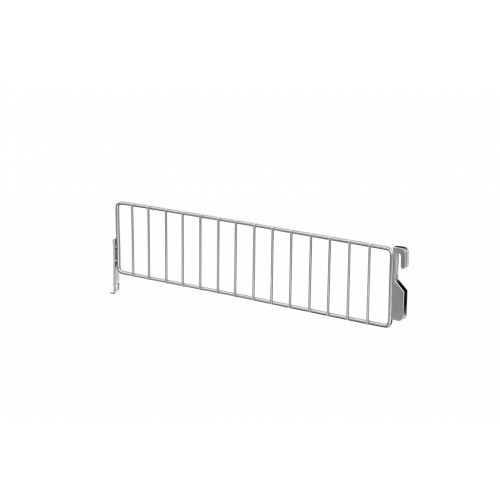 Low Wire Shelf Dividers for Retail Shelving Units - H80mm