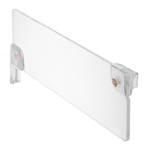 Acrylic Shelf Divider for Retail Shelving Units - H75mm