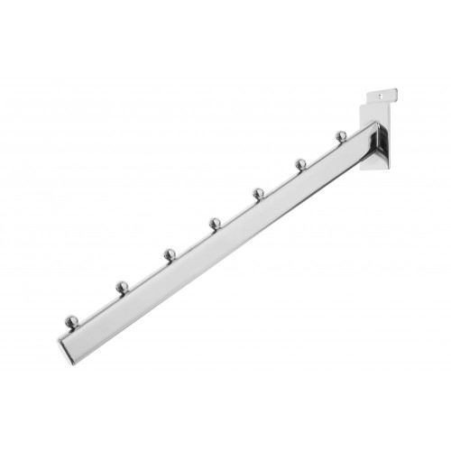 7 Ball Sloping Arm for Slatwall