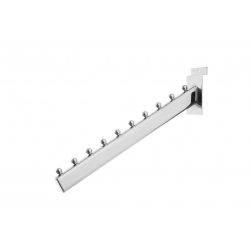 10 Ball Sloping Arm for Slatwall