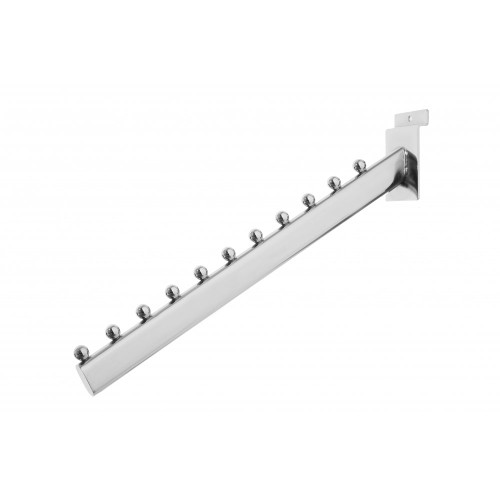 11 Ball Sloping Display Arm for Slatwall