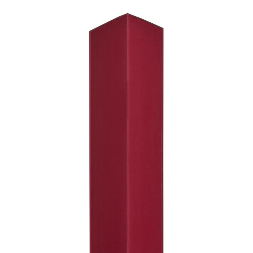 Burgundy 90° Corner for Slatwall Panels
