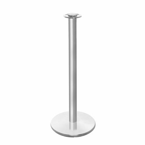 Barrier Post - Brushed Stainless Steel Post for Rope Barriers