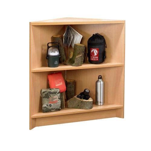 Open Corner Unit  with 1 Shelf - Aura Range
