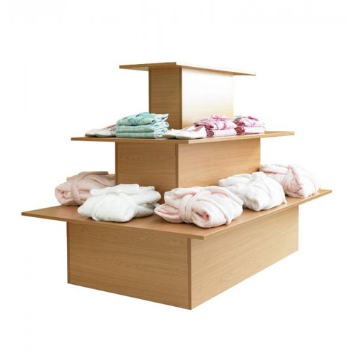 3 Shelf Display Island -Rectangle - Aura Range