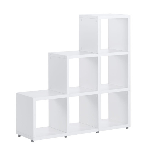Cube Shelving Display & Storage - Stacked 3, 2, 1