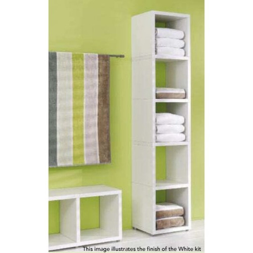 Cube Shelving Display & Storage - 1 High x 5 Wide