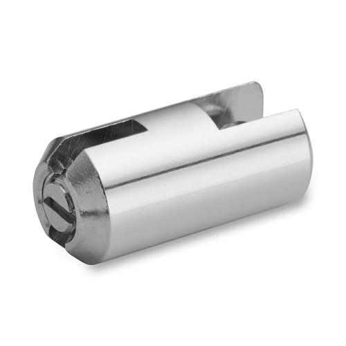 Chrome Single Panel Clip - 6mm Capacity