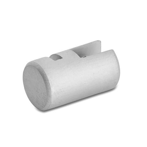 Satin Single Panel Clip - 4mm Capacity