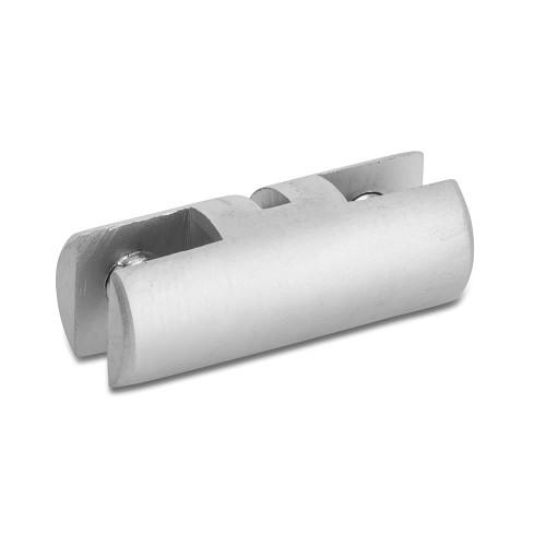 Satin Double Panel Clips - 4mm Capacity