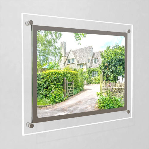 Accent Bevelled Edge LED Light Panel Wall-Mounted Kit - A3
