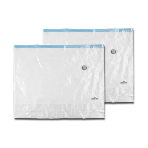 Pack of 2 Large Vacuum Storage Bags with Gusset
