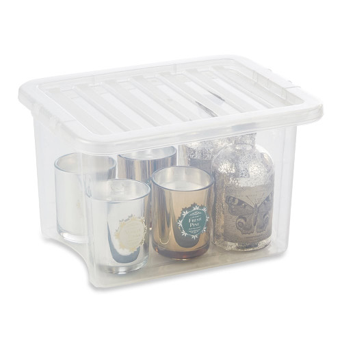 24L Clear Storage Box