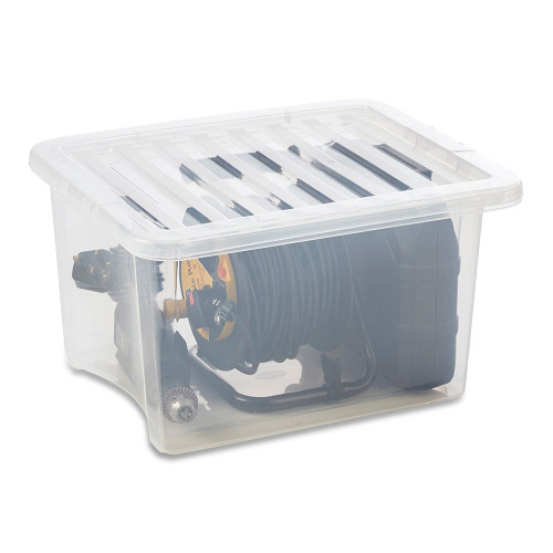 35L Clear Storage Box