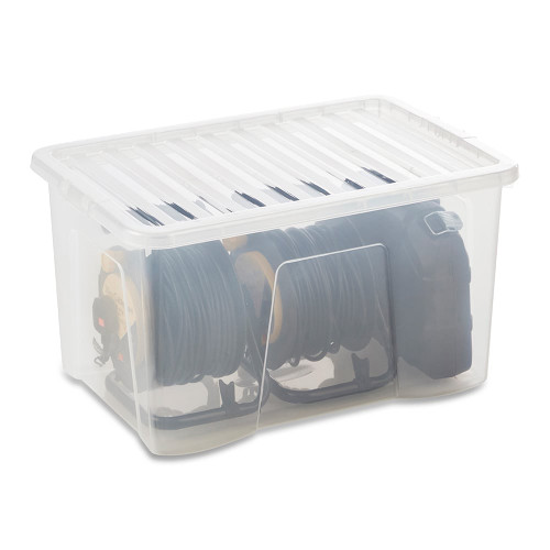 60L Clear Storage Box